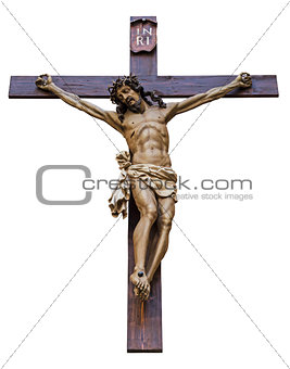 Crucifixion isolated
