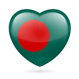 Heart icon of Bangladesh