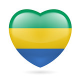 Heart icon of Gabon