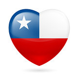 Heart icon of Chile