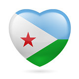 Heart icon of Djibouti