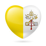 Heart icon of Vatican City