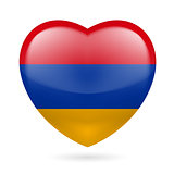 Heart icon of Armenia