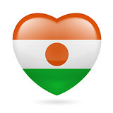 Heart icon of Niger