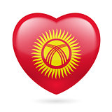 Heart icon of Kyrgyzstan