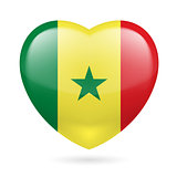 Heart icon of Senegal