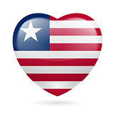 Heart icon of Liberia