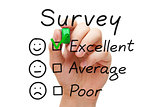 Survey Excellent Evaluation