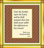 Psalm 55 v 22