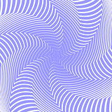 Design blue whirl movement illusion background. Abstract stripe