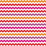 Aztec Chevron seamless colorful vector pattern or background with zig zag