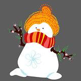 snowman third
