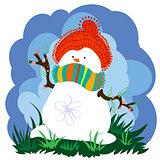 snowman second