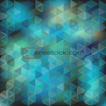 background triangles from