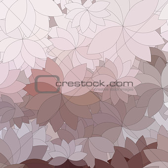 background of the abstract flowers and petal