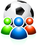 Soccer Ball with User Group
