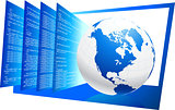 World wide web HTML code background