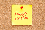 Happy Easter Sticky Note