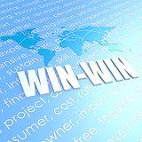 Win-win world map