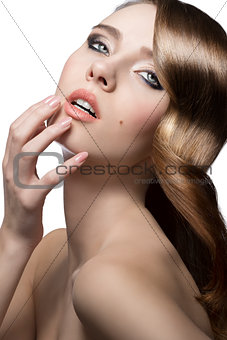 charming beauty woman