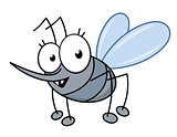Cartoon mosquito