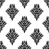 Damask seamless retro pattern
