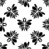 Elegance floral seamless pattern