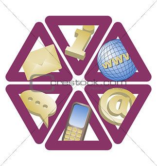cintact icons