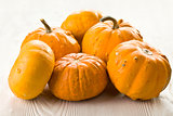 orange pumkins
