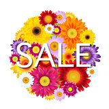 Colorful Gerbers Flowers Ball Sale