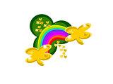 clover rainbow