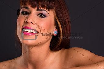 Bright Beautiful Auburn Haired Redhead Single White Female Woman