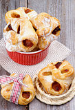 Pastry Baskets Jam Wrapped
