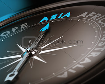 Travel destination - Asia