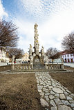 Telc, Czech Republic - Unesco city, Marian, column