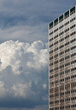 High building and bulk cumulus
