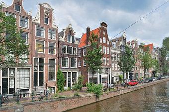 Amsterdam. Canal Brouwersgraht