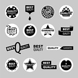 collection of vector icons of quality assurance