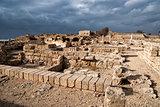 Ruins of roman period in caesarea