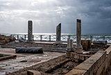 Caesarea park of ruins, Israel