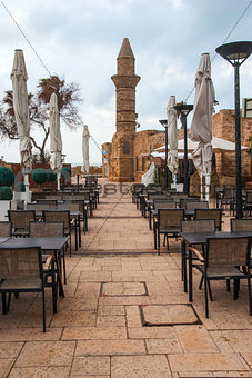 Minaret of roman period in caesarea