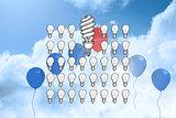 Composite image of idea doodle