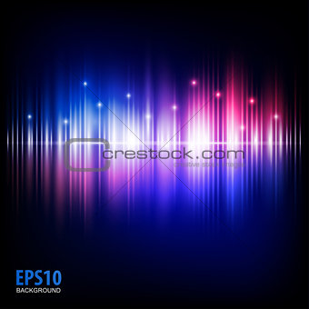 Abstract music equalizer. Eps 10