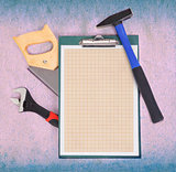 Clipboard and tools