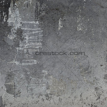 3d abstract grunge gray wall backdrop