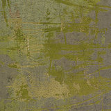3d abstract grunge green yellow wall backdrop