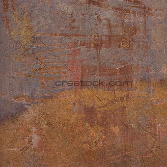 3d abstract grunge lavender orange wall backdrop