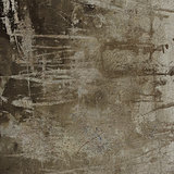 3d abstract grunge gray brown wall backdrop
