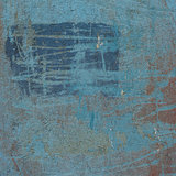 3d abstract grunge blue wall background