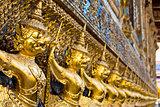 Garuda statues thai style